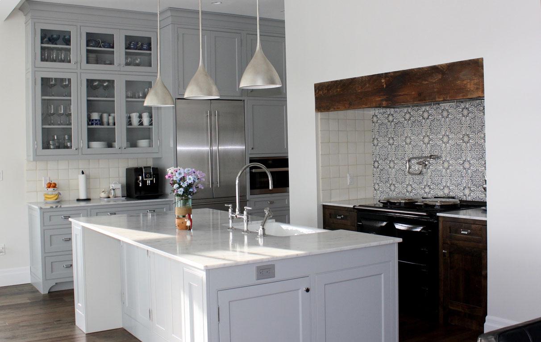grey kitchen custom made 1