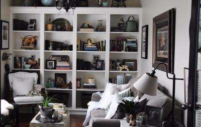custom millwork bookcase display cabinets