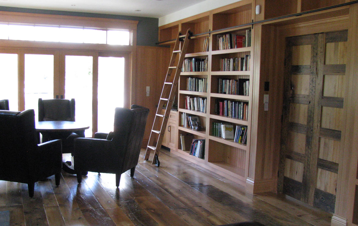 home library built in
