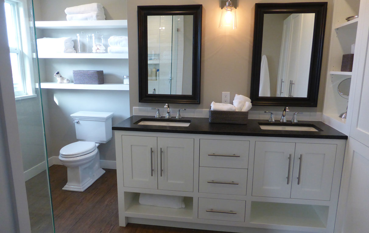 bathroom with white cabinets custom bathroom cabinets a wesley gallery 11887