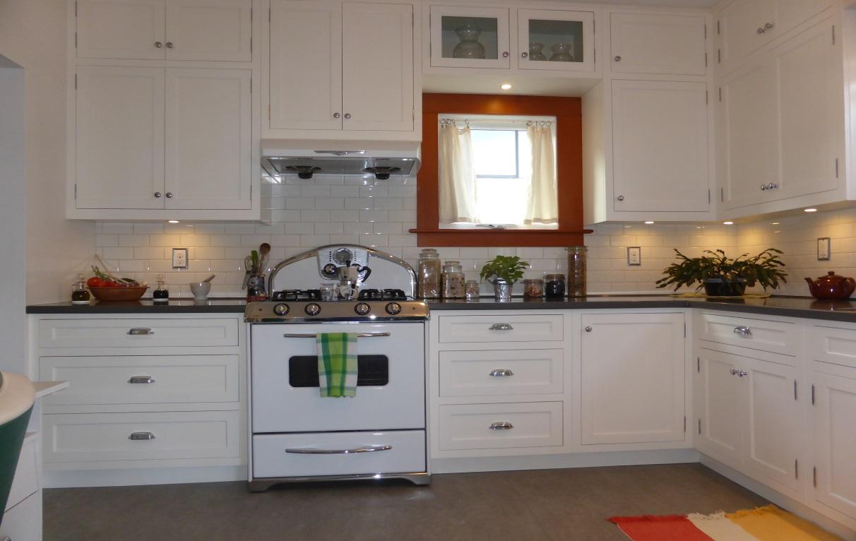 vintage kitchen restoration