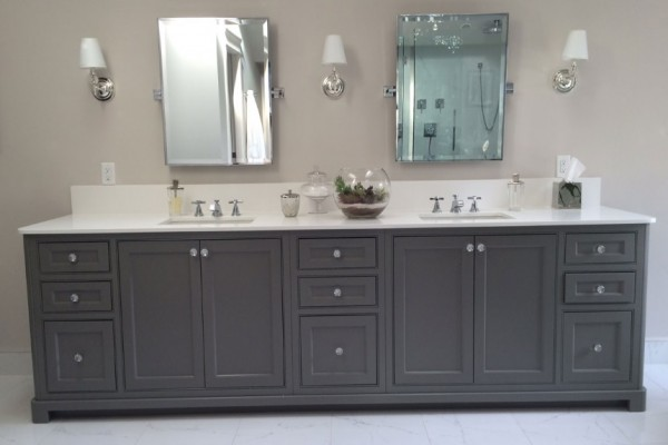 beaded inset cabinets