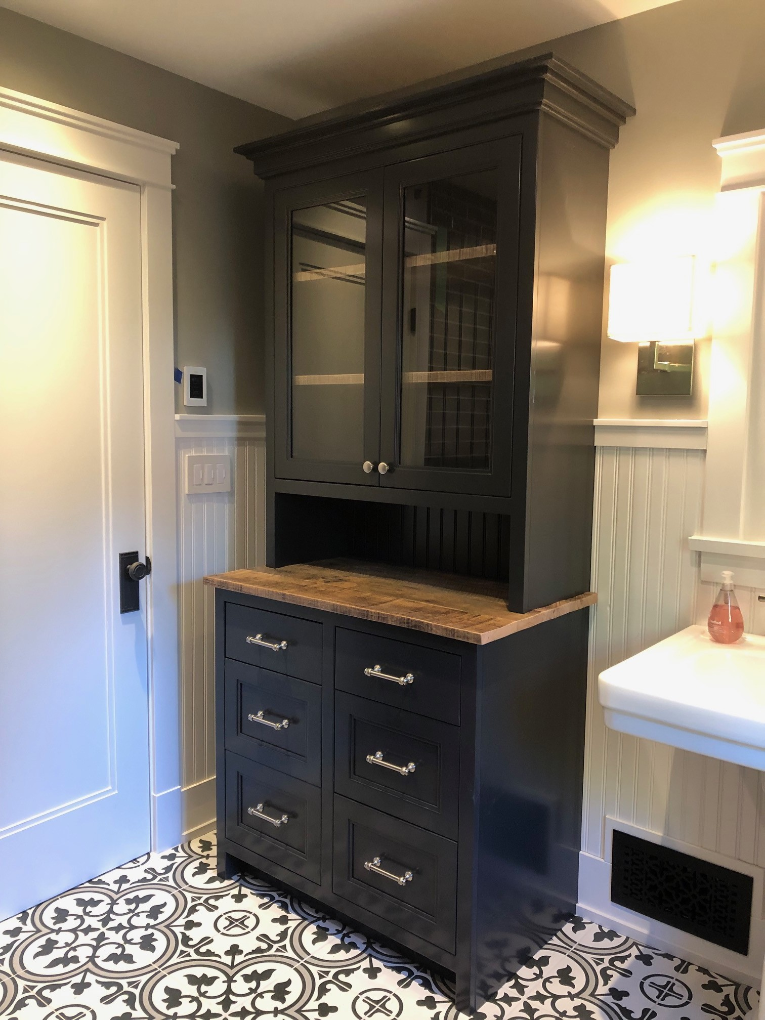 custom bathroom dresser
