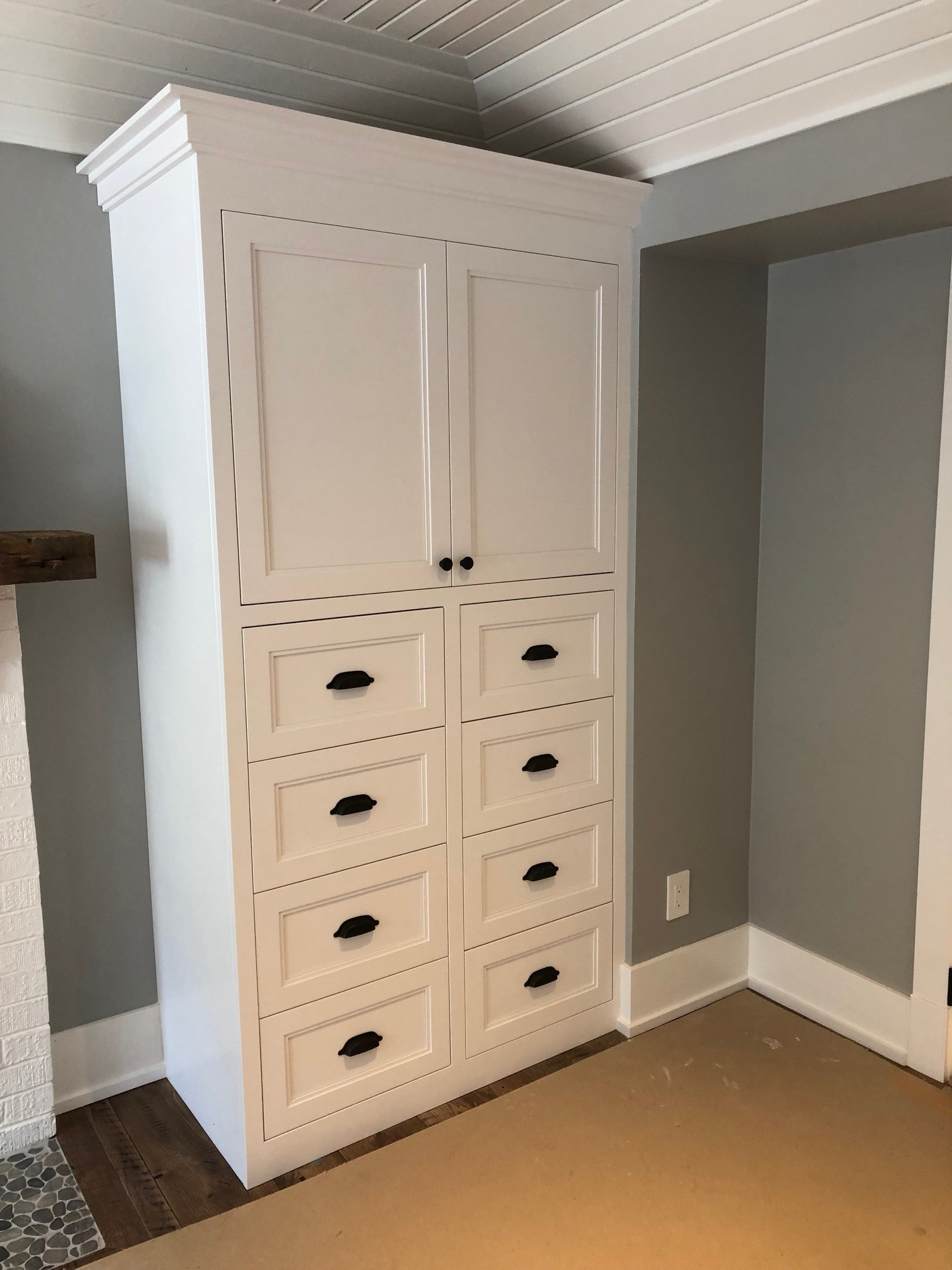 White Kitchen Armoire
